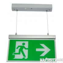 Channel E/RZ/M3/LED/H Exit Sign Hanging Surface Mount