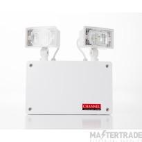 Channel E/GR/NM3/LED/IP65/2 Floodlight 760 LUMEN High Output Invertable