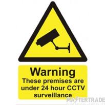 Channel T/CCTV/SIGN/1 CCTV Warning Sign