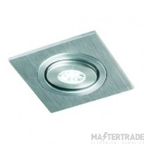 Collingwood DL130NW 1w Natural White LED Down Light Aluminium
