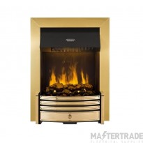 Dimplex CRS20 Crestmore Electric Fire 2.0kW Brass