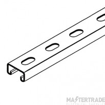 CSS CSS21/3/S Slotted Channel (Strut) 41x21x2.5mmx3m