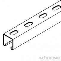 CSS CSS41/3/S Slotted Channel (Strut) 41x41x2.5mmx3m