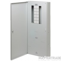 Crabtree Loadstar 250A Distribution Board 12 Way TP&N Meter Ready 18LS212MR