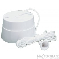 Crabtree Capital White 6A Ceiling Switch 2 Way SP 2141