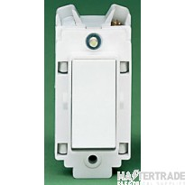 Crabtree Rockergrid White 10A Grid Switch 1 Way SP 4430