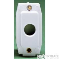 Crabtree Rockergrid White Connection Unit Flex Outlet 4435