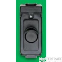 Crabtree Rockergrid White 400W Dimmer Switch 1 Module c/w 4480 4440