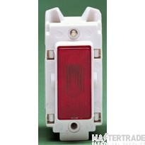 Crabtree Rockergrid Red Indicator Neon 4491