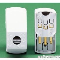 Crabtree LSC White Plug 3 Pin LSC 5006
