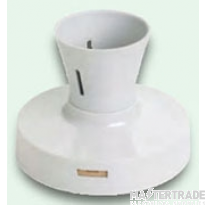 Crabtree Capital White Batten Lampholder Safety 5851/T