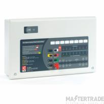 CFP Economy 8 Zone Conventional Fire Alarm Panel CFP708E-4