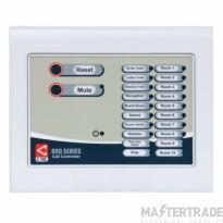 C-Tec NC920F 20 Zone Master Call Controller c/w 300mA PSU (Flush Version)
