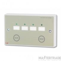 Four Zone Call Controller (requires NC930 12V 250mA PSU) NC944