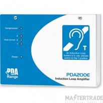 200m2 Hearing Loop Amplifier PDA200E