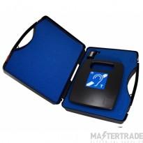 Portable 1.2m2 hearing loop system c/w plastic storage case PL1/K3