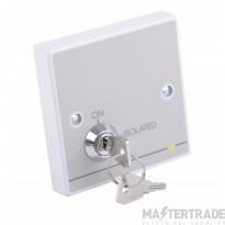 C-Tec QT645 Quantec PIR Power Interface c/w Isolating Keyswitch