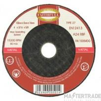 Deligo CDM416 Abrasive Cutting Disc 4in