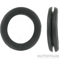 Deligo CG25 Open Grommet 25mm PVC Black