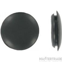 Deligo CGB20 Blank Grommet 20mm PVC Black