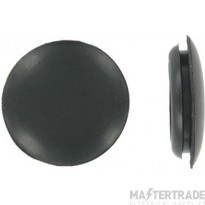 Deligo CGB32 Blank Grommet 32mm PVC Black
