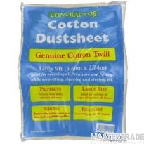 Deligo DUST Dust Sheet 3.6x2.7m