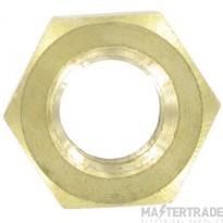 Deligo IBN12 Hexagon Full Nut M12 Brass