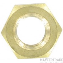 Deligo IBN6 Hexagon Full Nut M6 Brass