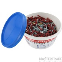 Deligo MTB Plug & Screw Mega Bucket Red