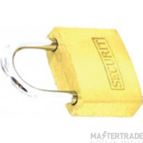Deligo PL38 Security Padlock 38mm Brass