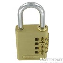 Deligo PLC40 Comb Lock Padlock 40mm Brs