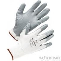 Deligo SNIT Nitrile Gloves Grey