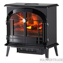 Dimplex BRG20 Burgate Electric Fire 2.0kW Black