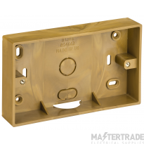 DLine TSB28O Twin Surface Box 28mm Oak