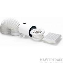 Domus DVF801ET Shower Fan Pack