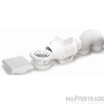 Domus DVF831ET Mxd Flow Fan+Duct Kit