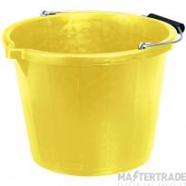 Draper 10636 Cntrtrs Bucket 14.8Ltr Yel