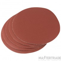 Draper 23359 Five 200mm 120 Grit Hook And Eye Backed Aluminium Oxide