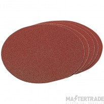 Draper 23360 Five 200mm Assorted Hook And Eye Backed Aluminium Oxide