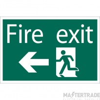 Draper 72448 SS34 Fire Exit AL Sign