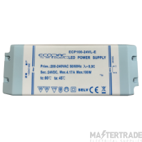 Ecopac LED Driver ECP100-24VL-E  Contant Voltage Fixed Outout 24 volt DC