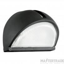 89767 Onja Modern Outdoor Cast Aluminium Wall Light In Black