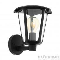 Eglo 98119 Monreale Up Wall Light E27 60W Blk