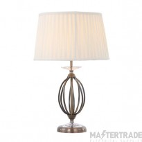 Elstead AG/TLAGEDBRASS Table Lamp E27