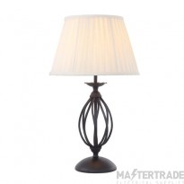 Elstead ART/TLBLACK Table Lamp E27 60W