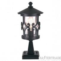 Elstead BL12BLACK Ped Lantern E27 100W