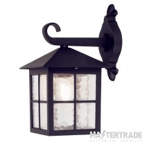 Elstead BL18 Winchester Exterior black Exterior Wall Lantern, IP43