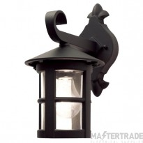 Elstead BL21 Hereford, black, exterior wall lantern, IP43