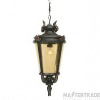 Elstead BT8/L Baltimore Large exterior chain lantern, IP43