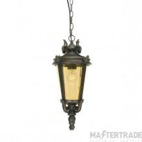 Elstead BT8/M Baltimore Medium exterior chain lantern, IP43